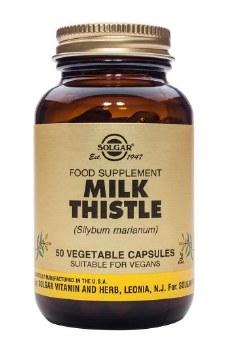 Solgar Vitamins Milk Thistle  50 vcaps