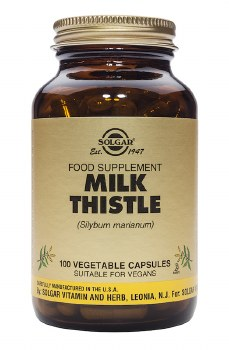 Solgar Vitamins Milk Thistle  100 vcaps