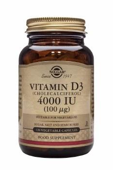 Solgar Vitamins Vitamin D3 4000iu 120 vcaps