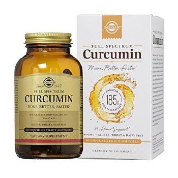 Solgar Vitamins Full Spectrum Curcumin 90 Softgels