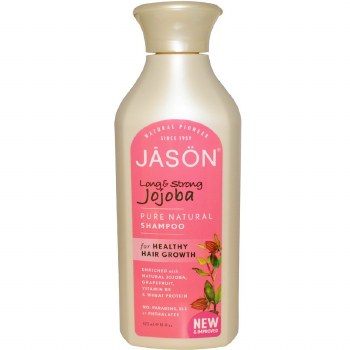 Jason Natural Cosmetics Organic Jojoba Shampoo   473 ml