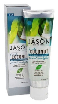 Jason Natural Cosmetics Coconut Eucalyptus Toothpaste 119g