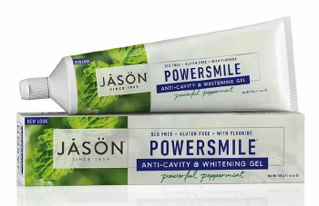 Jason Natural Cosmetics Powersmile Coq10 Toothgel 170g
