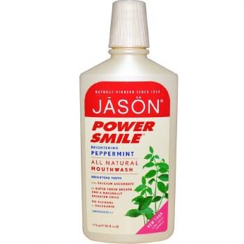 Jason Natural Cosmetics     Powersmile Mouthwash   473ml