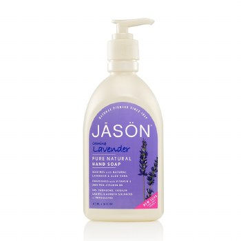 Jason Natural Cosmetics Organic Lavender Hand Soap 480ml