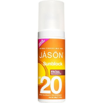 Jason Natural Cosmetics    Facial Sunblock SPF20 128g 113 g