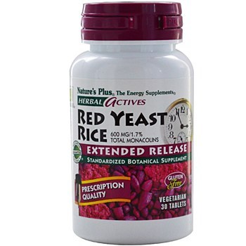 Nature's Plus Red Yeast RiceExtended Release 60 tabs