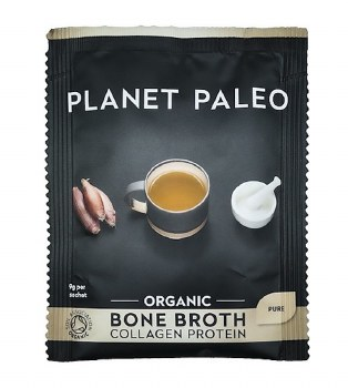 Planet Paleo Bone Broth Org Protein Pure 9g