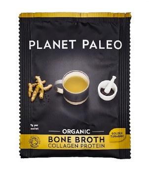 Planet Paleo Bone Broth Org Protein Turmeri 10 x 9g