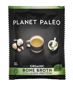 Planet Paleo Bone Broth Org Protein Herbal  9g