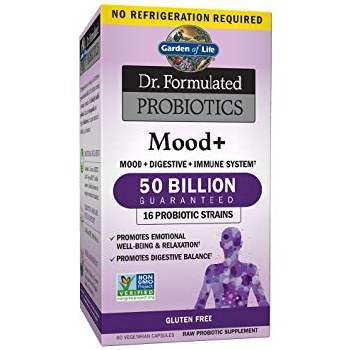 Garden of Life Mood + 50 Billion 60 Capsules