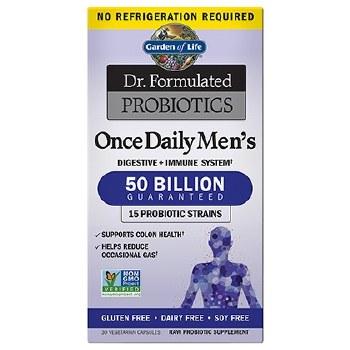 Garden of Life OAD Men's 50 Billion 30 Capsules
