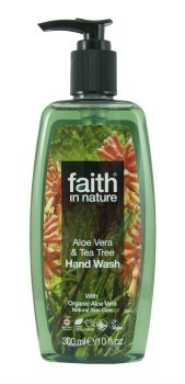 Faith in Nature Aloe & Tea Tree Hand Wash 300ml