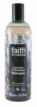 Faith in Nature Lavender & Geranium Shampoo 400ml