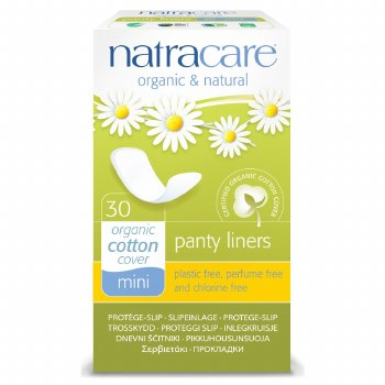 Natracare Natural Panty Liners 30pieces