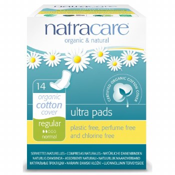 Natracare Ultra Pad Wings Super 12pieces