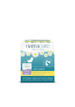 Natracare Ultra Extra Pads Long 8pads