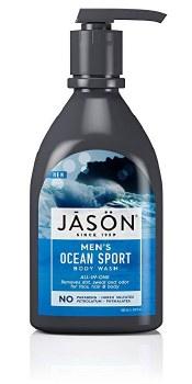 Jason Natural Cosmetics JAS Men BodyWash Sports w/pump