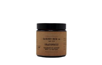 Hackney Wick Co. 100% Soy Wax Candle Grapefruit 100g
