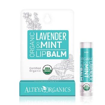 Alteya Organics Lavender and Mint Lip Balm 5g