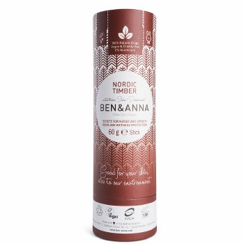 Ben & Anna NordicTimber Soda Deodorant 60g