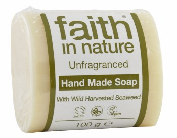 Faith in Nature Seaweed Vegetable Soap 100g