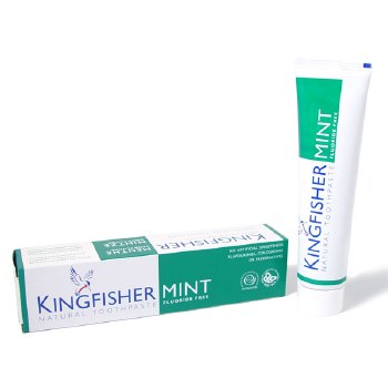Kingfisher Mint Lemon No Flouride Tooth 100 ml
