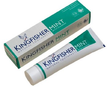 Kingfisher Mint And Lemon Toothpaste 100ml