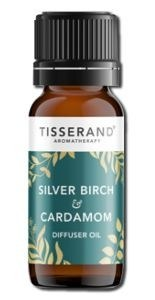 Tisserand Silver Birch & Cardamon Oil  9ml