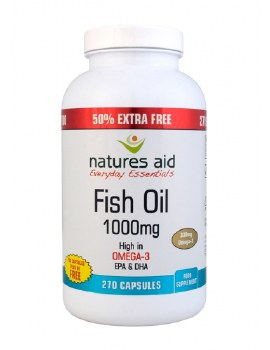 Natures Aid Fish oil 1000mg 180 + 90