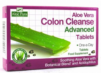 Aloe Pura Advanced Colon Cleanse 60 tablets
