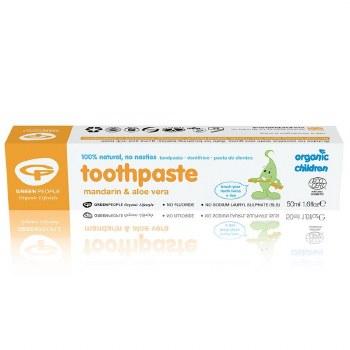 Green People Children Mandarin Toothpaste 50ml