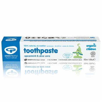 Green People Organic Spearmint Toothpaste 50ml