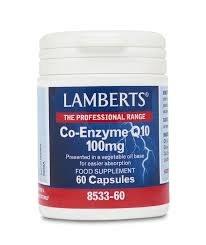Lamberts Coenzyme Co-Q10 100mg 60 caps