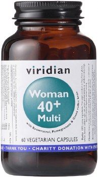 Viridian Woman 40plus Multi 60 Veg Caps 60 caps