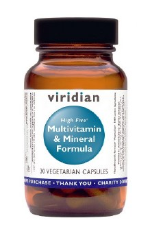 Viridian HIGH FIVE Multivitamin/Mineral 120 vcaps