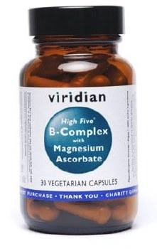 Viridian HIGH Five B-Complex/Magnesium 120 vcaps