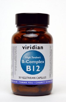 Viridian  Vitamin B12 with B Complex  30 vcaps
