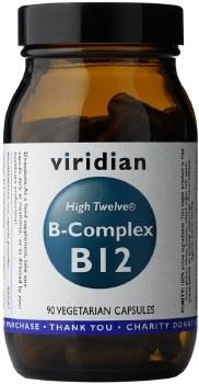Viridian Vitamin B12 with B Complex  90 caps