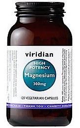 Viridian High Potency Magnesium 300mg 30 caps
