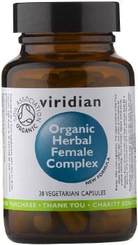 Viridian  Organic Herbal Female Complex 30 Vcaps