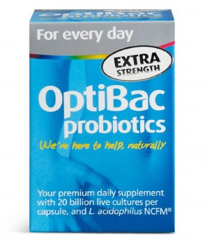 Optibac Probiotics Daily Wellbeing Xtra Strength 30 Capsules