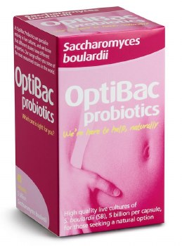 Optibac Probiotics Saccharomyces Boulardii 40 capsule
