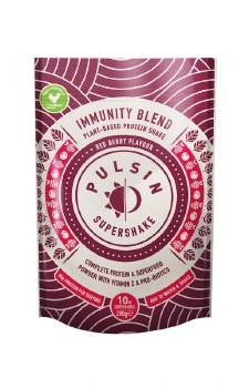 Pulsin Supershake Immunity Red Berry 280g
