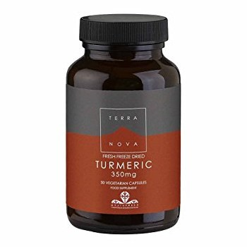 TerraNova Nutrition Turmeric 350mg   50 vcaps