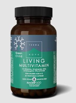 TerraNova Nutrition Green Child Multivitamin   50 vcaps