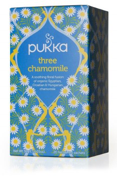 Pukka Herbs Three Chamomile Herbal Tea 20bag
