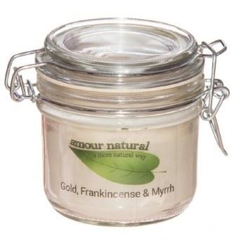 Amour Natural Aroma Candle FrankincenseMyrrh