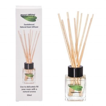 Amour Natural  Reed Diffuser Sandalwood
