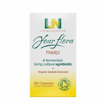 Living Nutrition Your Flora Family 60 capsules